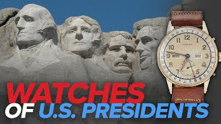 Watches of US Presidents (Rolex, Cartier, Seiko, & More)