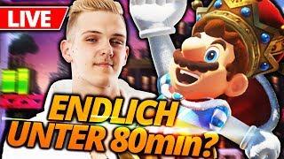 🔴 NEUE BESTZEIT! Super Mario Odyssey Speedrun [1:19:52]