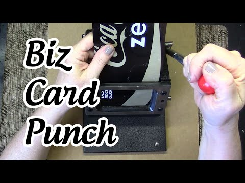 Business Card Punch/ Die Cutting Machine