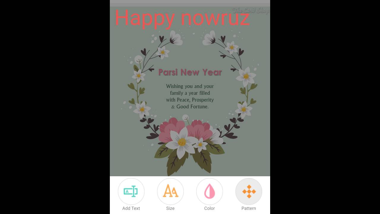 Parsi new year greeting cards youtube parsi new year greeting cards kristyandbryce Gallery