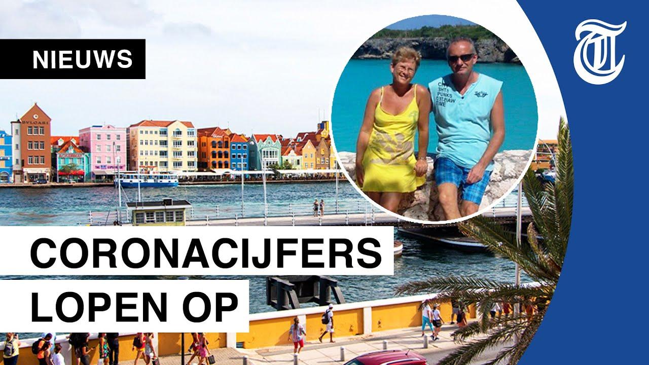 Ik Vertrek-stel op Curaçao: 'Zeker bang voor nieuwe lockdown'