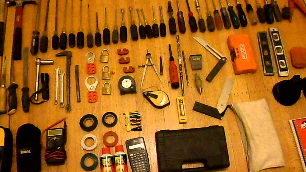 Electricians Hand Tools