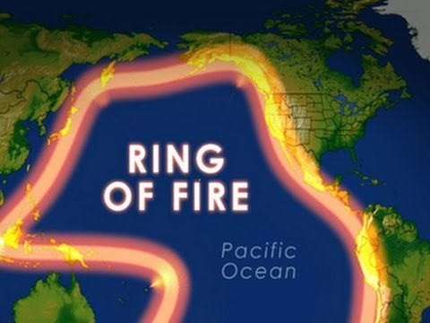 Rim Of Fire Map.Ring Of Fire New Attention After Active Earthquake Week Youtube