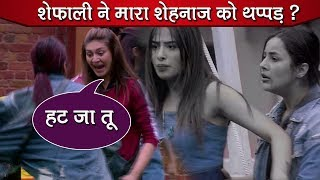Bigg Boss 13 Review: SHOCKING! Shefali Zariwala SLAPS Shehnaz Gill| Luxury Budget