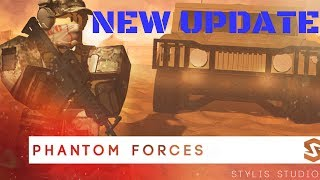 NEW UPDATE!!! - Phantom Forces - Colt LMG - (Roblox #28)