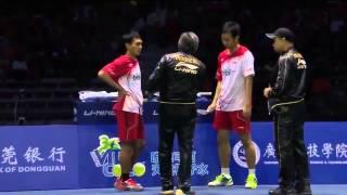 Badminton 2015 New | Cai Yun   Fu Haifeng vs Mohammad Ahsan  Hendra Setiawan