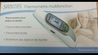 SANITAS SFT 75 Термометр багатофункціональний Тест