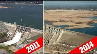 Drying Rivers, Lakes and Reservoirs