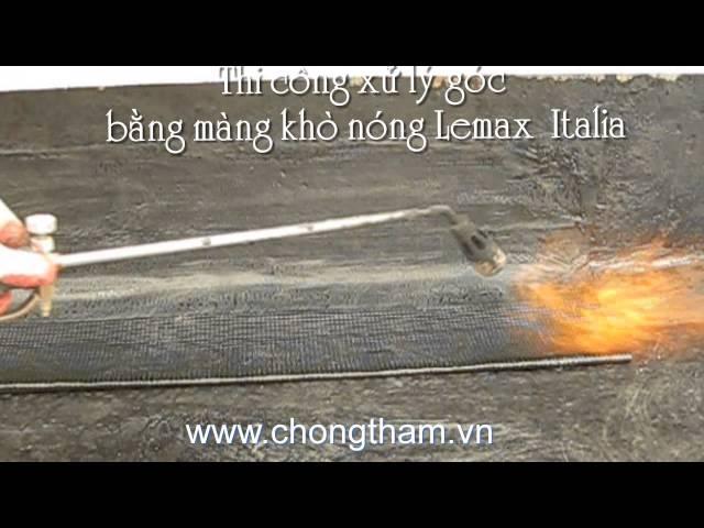 Chống thấm mái bằng hãy dùng màng chống thấm Lemax