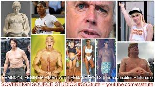 Femboy* Feminem Hermaphrodite Intersex TRUMP EMINEM DAVID ICKE ELON MUSK Transvestigation* #SSStruth