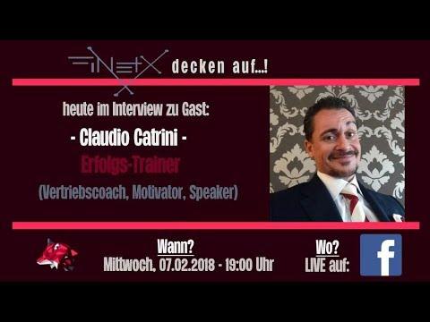 Claudio Catrini // im Interview bei FinetX Sascha Kuhn