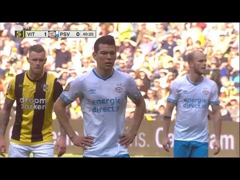Gol de Chucky Lozano - Vitesse vs PSV 1-1 (HD) 2019