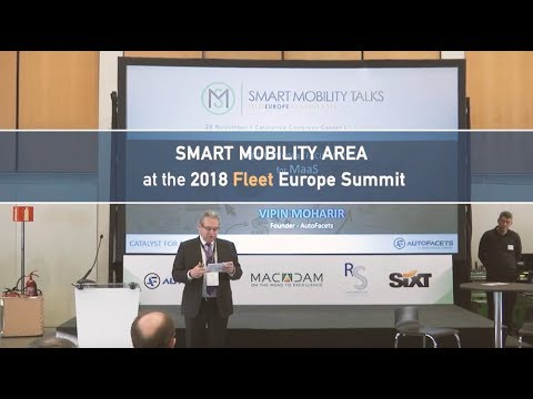 Smart Mobility Area at the 2018 Fleet Europe Summit