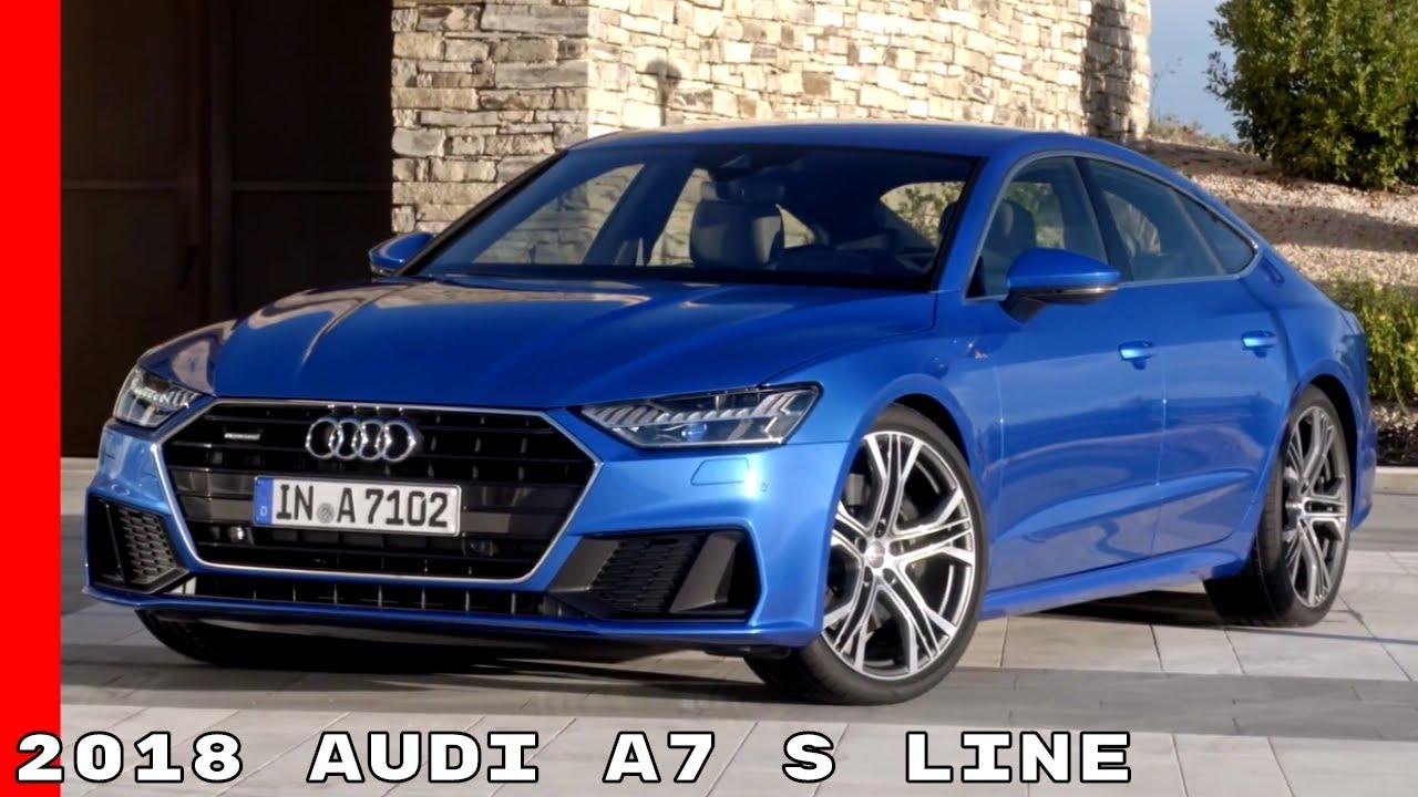 2018 Audi A7 S Line Exterior Interior Drive Youtube