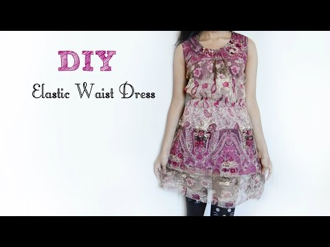 96295a6c5cc DIY Simple Elastic Waist Dress (Hippie Inspired)