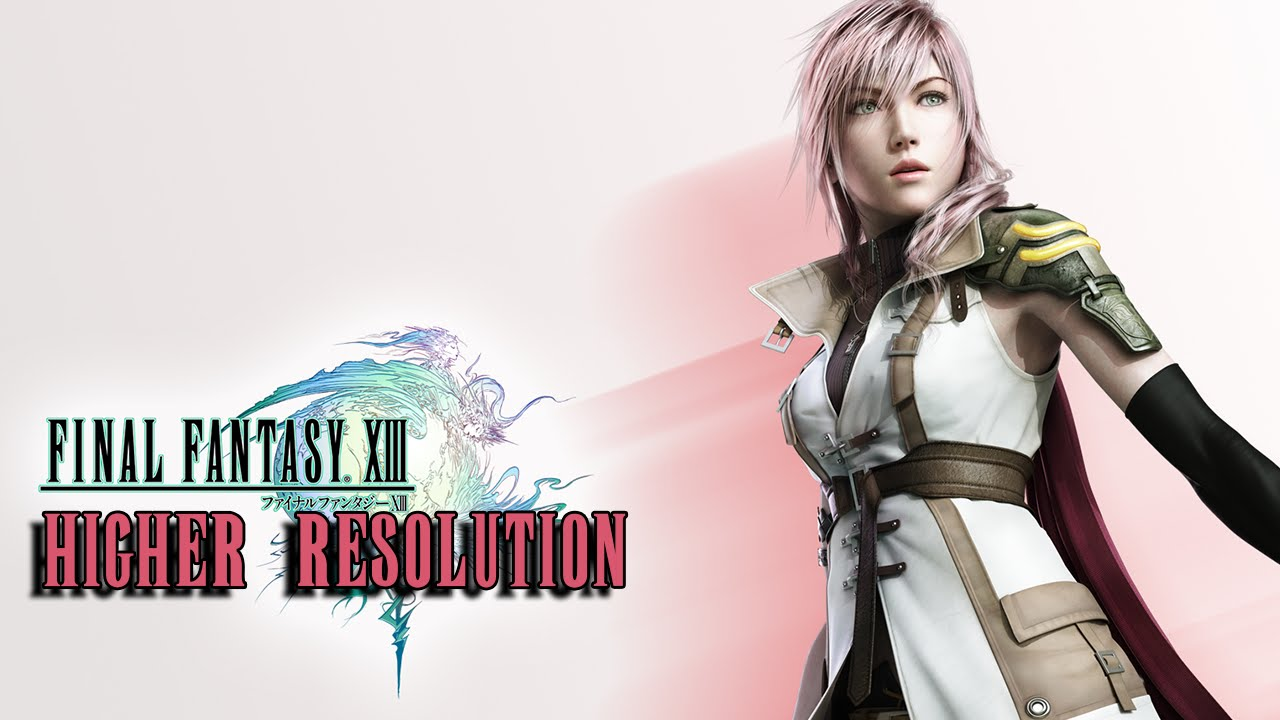 Final Fantasy 13 (PC) - How To Change Resolution by RPG Division