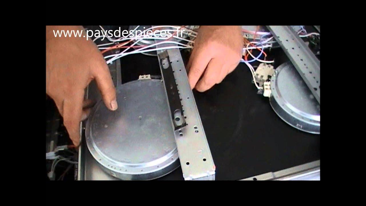 Guide vid o sur la r paration de la cuisini re voil comment changer un foyer radiant youtube - Comment nettoyer une plaque vitroceramique ...
