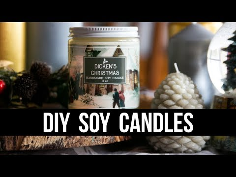 DIY Soy Candles (Easy & Beginner Friendly) | Royalty Soaps