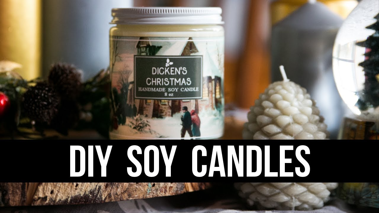DIY Soy Candles (Easy & Beginner Friendly) | Royalty Soaps