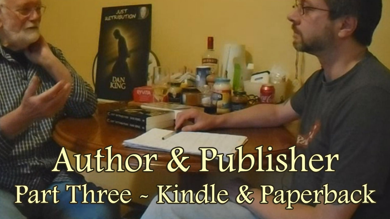 Author publisher part three kindle paperback publishing