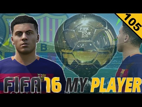 'THE BALLON D'OR AWARD!' | Episode #105 | FIFA 16 My Player w/Storylines (The American Legend)