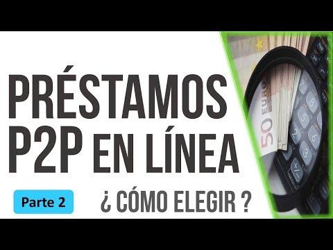 Préstamos on-line P2P | ¿En qué me fijo para elegir una ? (video) de YouTube · Duración:  7 minutos 57 segundos