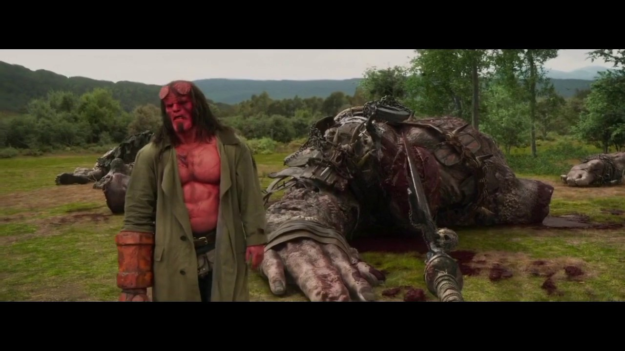 Download New Hollywood movie Hindi Dubbed 2019- HELLBOY monster movie clip-hellboy fight scene