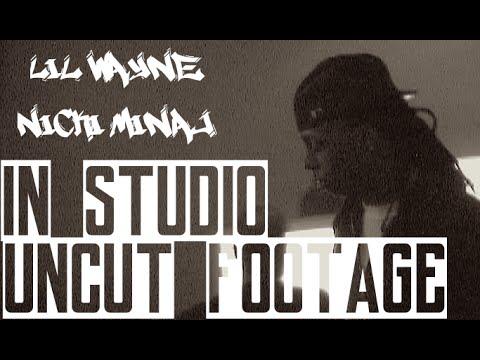 Lil wayne in Studio Recording with Nicki Minaj | Behind The Music | Jordan Tower Network