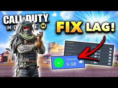 How To FIX LAG In Call Of Duty Mobile! (MAX FPS Tips And Tricks)