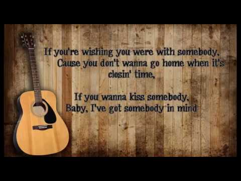 Morgan Evans - Kiss Somebody lyrics