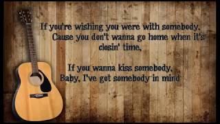 Morgan Evans Kiss Somebody Lyrics