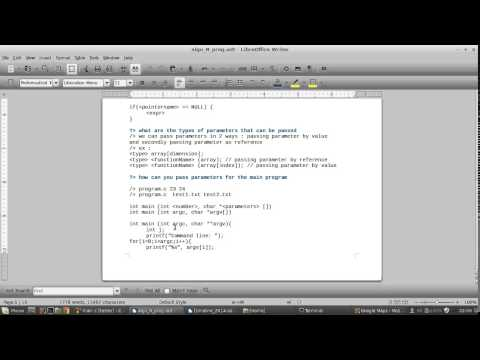 Session 1 : Algorithm And Programming In C - Basics In C