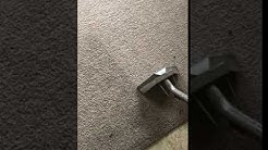 Living Room carpet cleaning in Mesa, AZ - traffic and dust/dirt gone!
