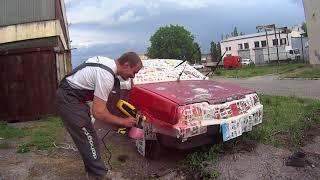 Покраска автомобиля дешево и сердито :)