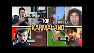 TOP 5 MAYORES ENFADOS Y FAILS DE #KARMALAND3   VEGETTA777, WILLYREX, STAXX Y ALEXBY11