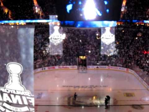 Canucks/Bruins Game 7  Intro Stanley Cup Finals