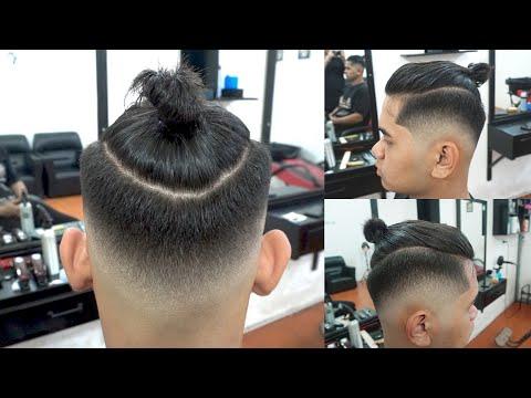 Chất như nước cất với kiểu tóc MANBUN  - Tóc nam đẹp 2021 - Chính barber