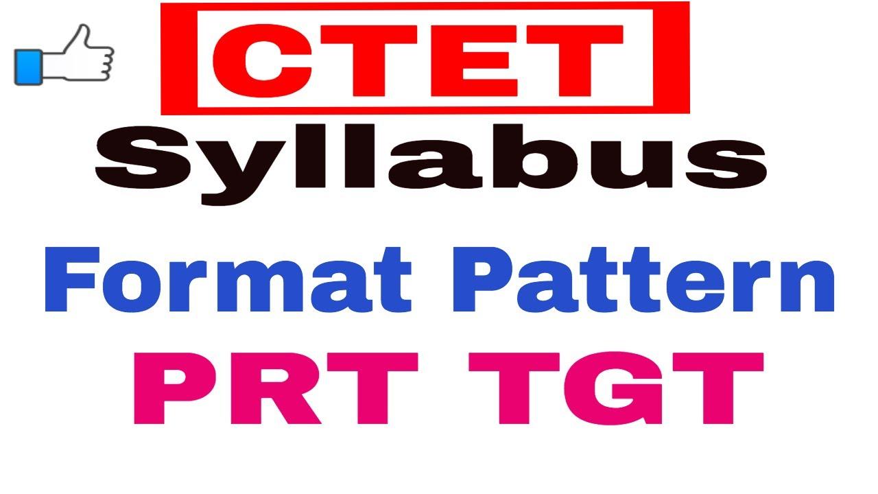 CTET Syllabus ! PRT TGT ! CTET Exam Pattern ! How to Crack Ctet exam by  Career Academy Ambala