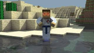 Naruto Minecraft Animation | Fire Style : Fire Ball Jutsu! Thumbnail