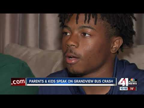 Teammates recall terrifying moments of Grandview school bus crash