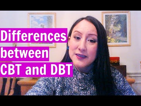 Differences between Cognitive Behavior Therapy and Dialectical Behavior Therapy (DBT)