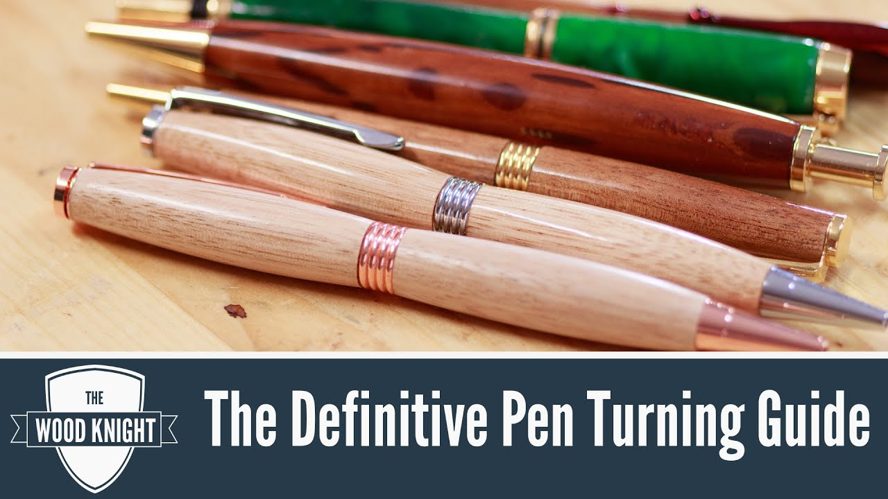 Guide to Turning Acrylic Pens (Video Guide) | Wood turning ... |Pen Turning Guide Lathe