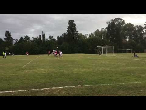 Gol de tiro libre Salvador 6-2 Sagrada Flia. 2017