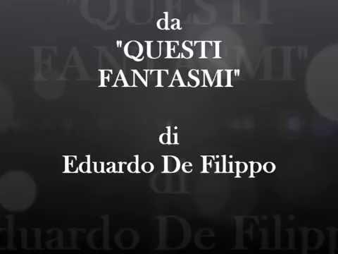 """Questi fantasmi"" - Eduardo De Filippo,  racconta la sua idea di caffè"
