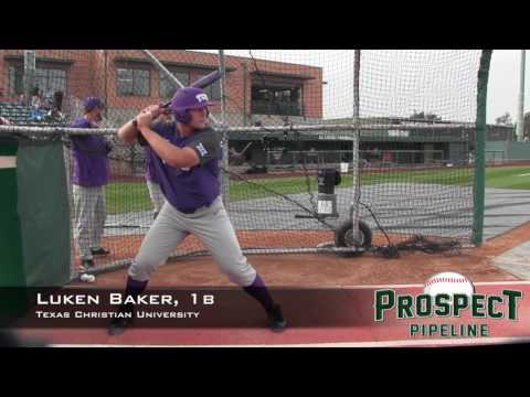 Luken Baker Prospect Video, 1b, Texas Christian University