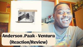 Anderson .Paak - Ventura ReactionReview