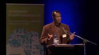 Pr. Aziz Fall Salmone - Discours au Congrès Panafricain de Munich-2015