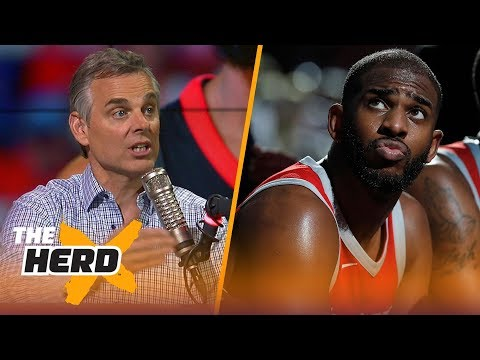 Colin Cowherd on why Houston's Chris Paul is the most unlucky player in NBA history | NBA | THE HERD