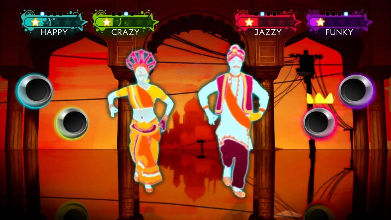 Just Dance 3 - Katti Kalandal Wii Footage - YouTube