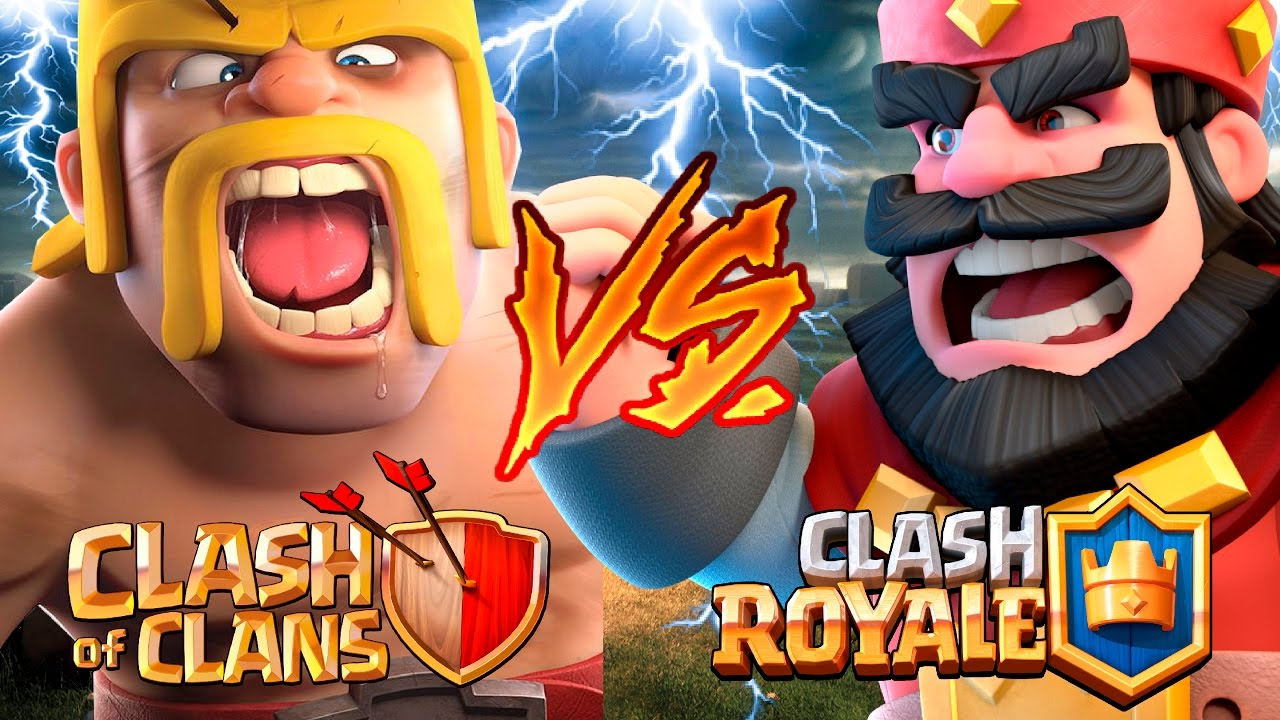 Clash Royale VS Clash of Clans! WHICH CARDS ARE BETTER?!